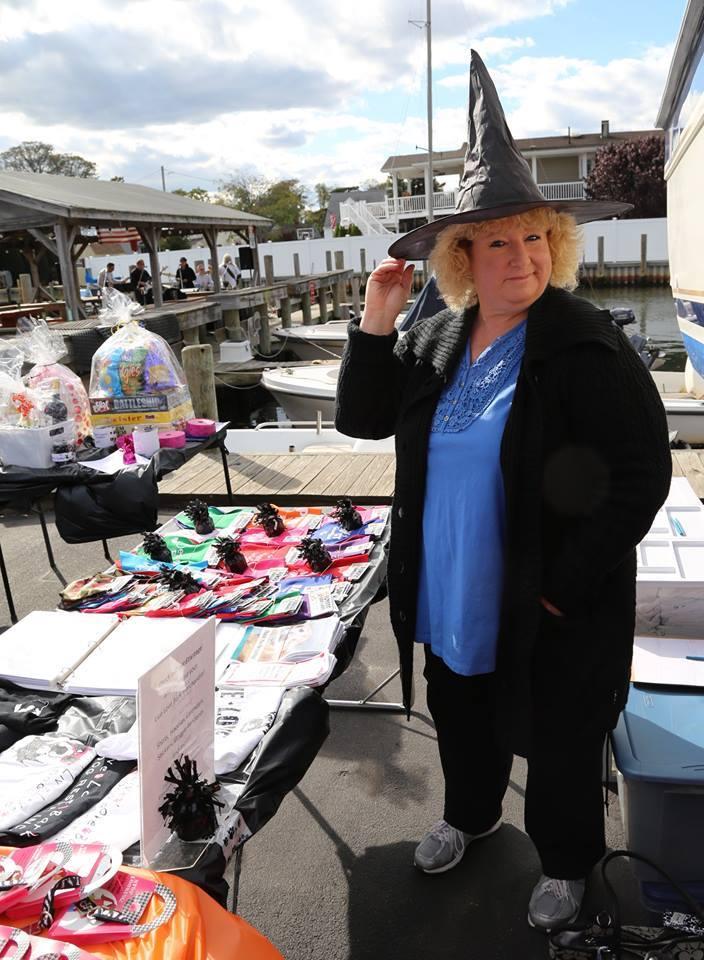 Maureen at the 2015 Howloween fundraiser