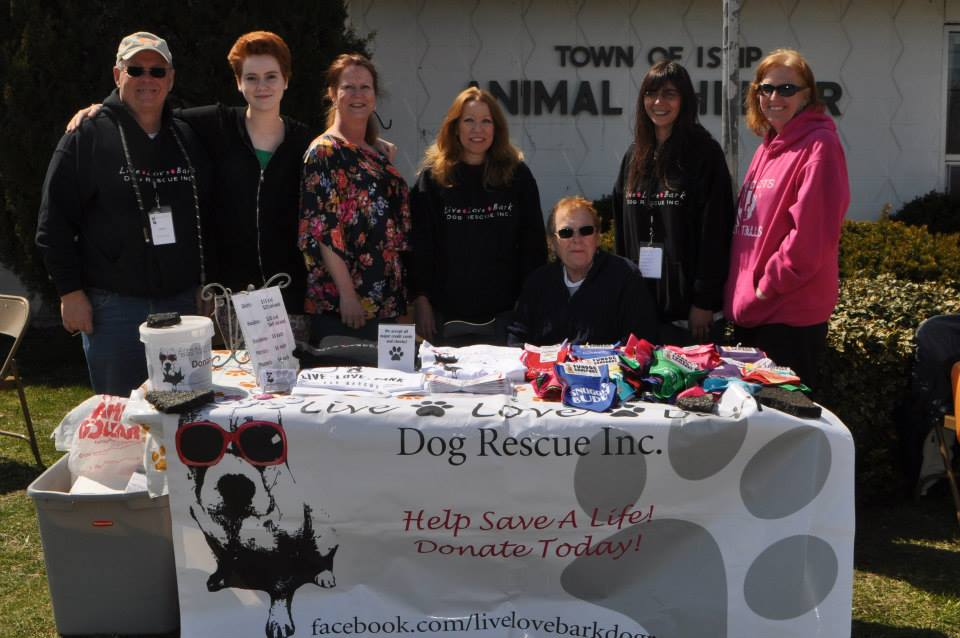 LLB with Town Clerk Olga Murray at the adopt-a-thon!