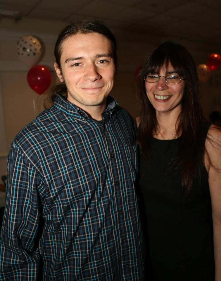 Andrea and Stephen at our Annual Charity Dinner